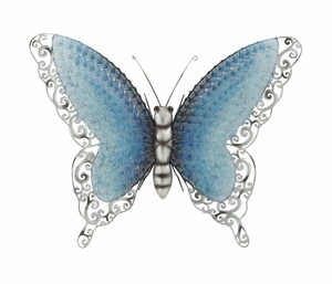 Contemporary Styled Metal Butterfly - 58527 by Benzara