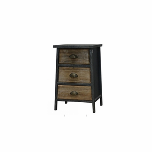 Contemporary Three Drawer Cabinet by Urban Port