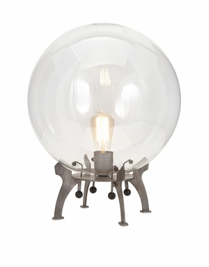 Cool Electrode Oversized Glass Table Lamp