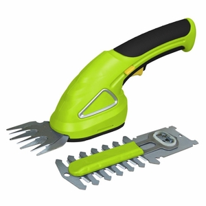 Cordless Handheld Grass Cutter Shears, Electric Hedge Shrubber Trimmer