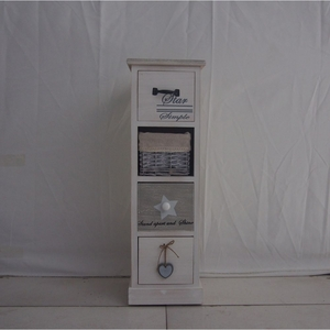 The Urban Port Country Style Wood Cabinet