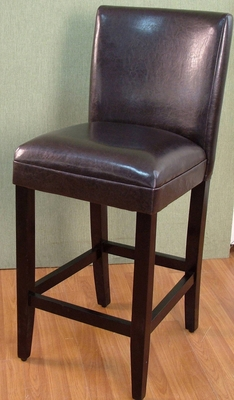 4D Concepts Coventry's Contemporary Styled Deluxe Brown Barstool
