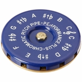 Cp-C Vocal Chromatic Pitch Pipe Key Of C To C With Carrying Bag