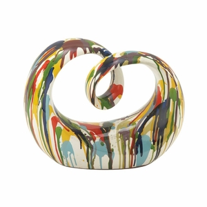 Creative PS Painted Sculpture - 50185 by Benzara