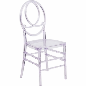 Crystal Ice Phoenix Chair Clear - Y-2-GG by Flash Furniture