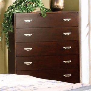 Crystal Lake Leisurely Sumptuous Chest, Brown Cherry
