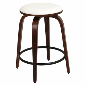 CS-PRT CH-W2 Porto Counter Stools with Swivel - Set Of 2