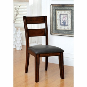 Dalia 2 PC Fuax Leather Upholstered Side Chair