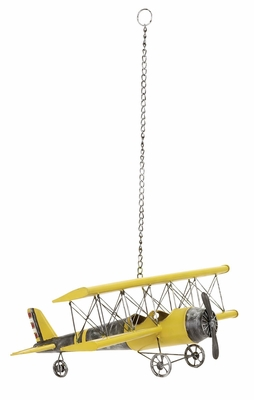 METAL PLANE PERFECT ANYTIME GIFT - 69858 by Benzara