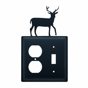 Deer - Single Outlet and Switch Cover