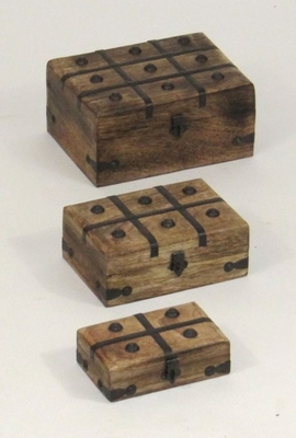 Den Haag Nested Pirate Chest Set, Splendid And Sophisticated Brand IOTC