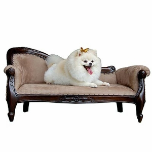 Dilbeek Pet Sofa, Carved Creation by D-Art