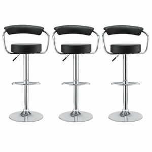 Diner Bar Stool Set of 3