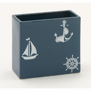Distinctive Ceramic Square Vase - 59790 by Benzara
