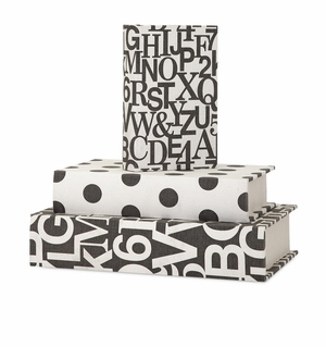 Distinctive Margie Book Boxes - Set of 3