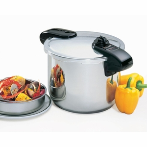 Professional 8 Qt. Stainless Steel Pressure Cooker
