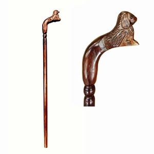 Dog Decorative Walking Stick by D Art Collection