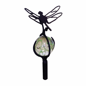 Dragonfly - Marble Garden Stake