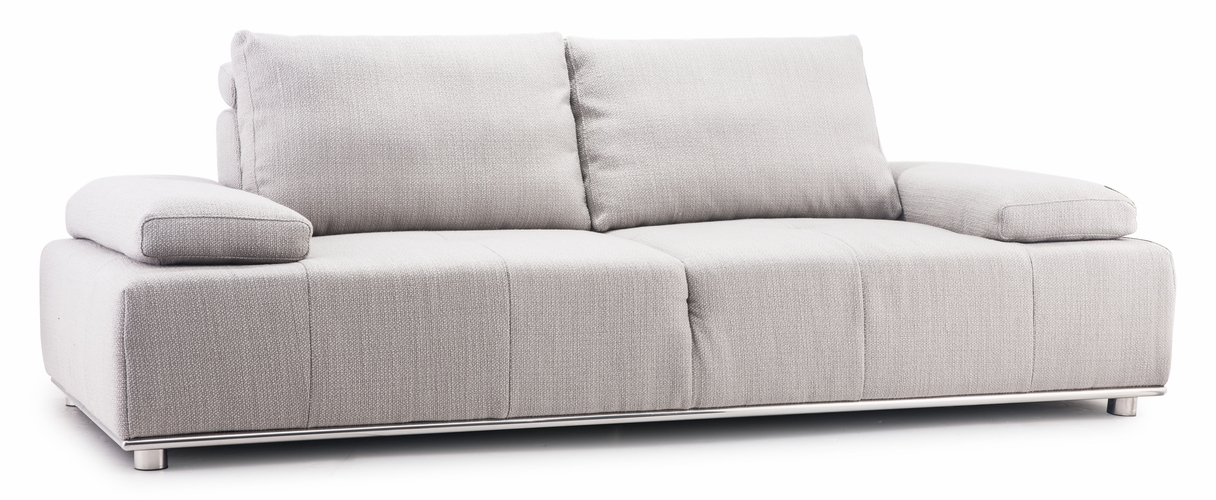 Buy drammen sofa sand by zuo modern for Wild orchid furniture