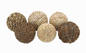 decorative Ball with Beautiful Design (Set of 6) - 42957 by Benzara