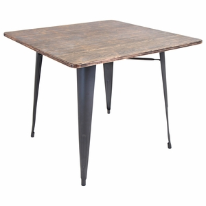 DT-TW-ORTB-SQ Oregon Dining Table