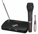 Dual Function Wireless/Wired Microphone System