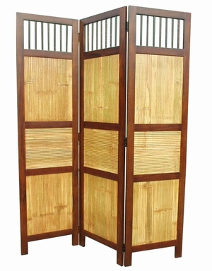 Duisburg Three-Panel Screen Room Divider