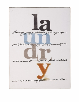 Durable and Funky Dahl Laundry Sign