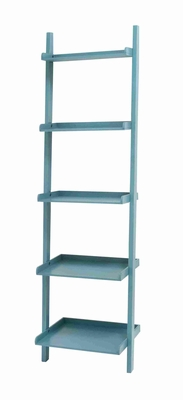 Spacious and Durable  Wooden Leaning Shelf Easily Compatible - 96233 by Benzara