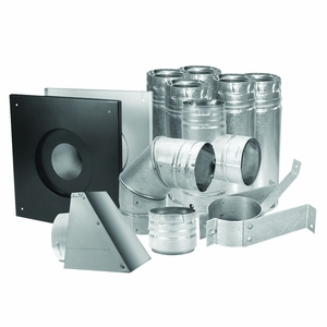 """Duravent 3"""" Pellet Vent Kit Stainless by US Stove"""