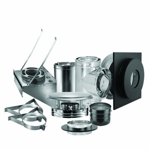 """Duravent 6"""" Duraplus Through The Wall Kit by US Stove"""