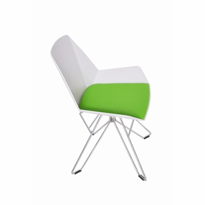 Eames Chrome Leg Low Back Chair [IN8W]