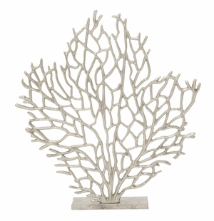 Elegant Aluminum Tree Nickel Plated - 24072 by Benzara