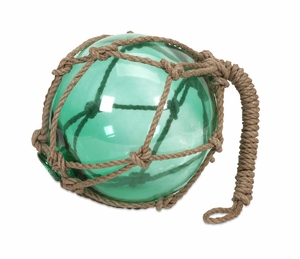 Elegant Green Buoyant Glass Float