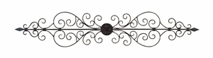 Metal Wall Plaque 44 Inches Wide - 26545 by Benzara
