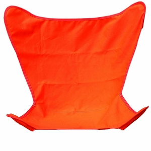 Elegant Orange Replacement Cover for Butterfly Chair by Algoma