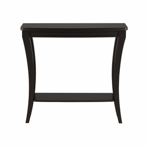 Ellis Curved Leg Dual Shelf Entryway Table