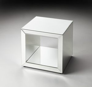 """Emerson Mirrored Bunching Cube 17.5""""H"""
