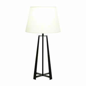 Enthralling Metal Table Lamp by Benzara