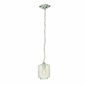 Excellent Glass Lamp With Blub - 60716 by Benzara