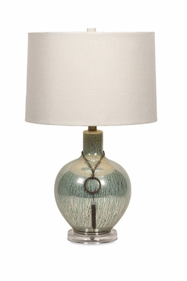 Excellent Terwilliger Mercury Glass Lamp with Chain