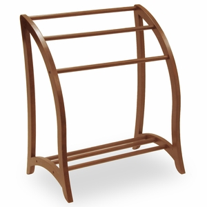 Exceptional & Classic Piece of Quilt Rack by Winsome Woods