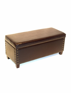 4D Concepts Exclusive and Trendy Virginia Storage Bench