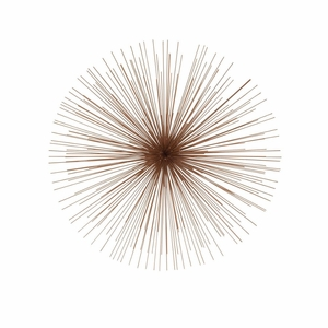 Exclusive Metal Copper Wire Wall Decor - 50393 by Benzara