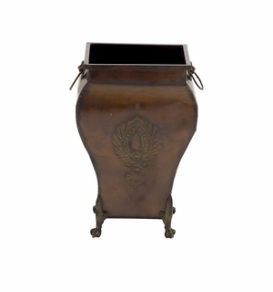 Exquisite And Stunning Vintage Metal Footed Urn - 53267 by Benzara