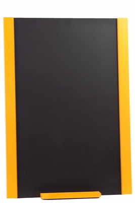 Exquisite and Unique Wooden Blackboard with Yellow Border