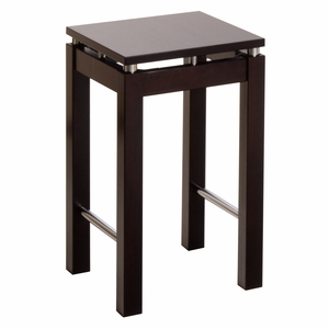 "Exquisite Styled Linea 23"" Stool with Chrome Accent by Winsome Woods"