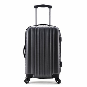 """F145-CARBON Melbourne 20"""" Expandable Carry On Luggage Set"""