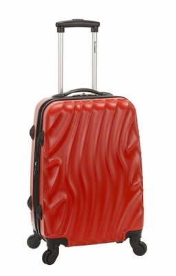 """F145-REDWAVE Melbourne 20"""" Expandable Abs Carry On Luggage Set"""
