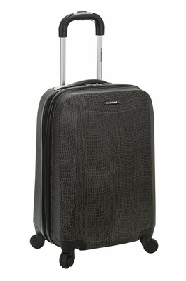 "F151-CROCODILE 20"" Polycarbonate Carry On  Luggage Set"